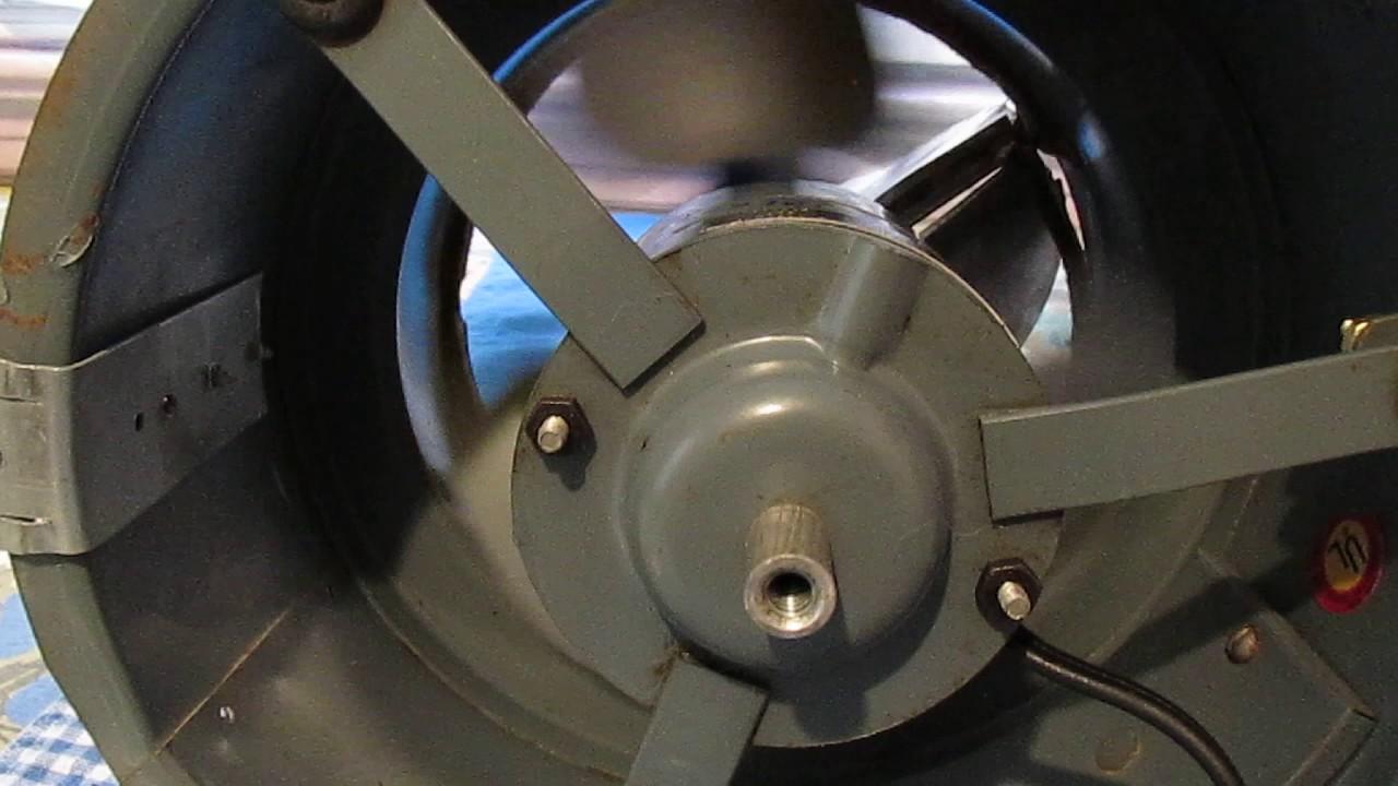 kitchen exhaust fans backsplash rolls vintage 1960s nutone fan - youtube