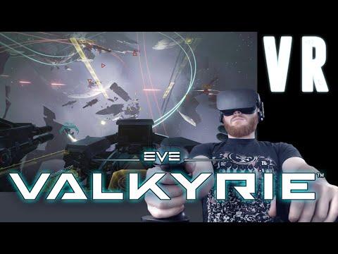 EVE: Valkyrie - VR space battles on the Oculus Rift CV1 HMD
