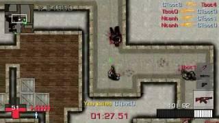 CSPSP 1.92 Mod PSN - Counter Strike 2D for PSP - Gameplay