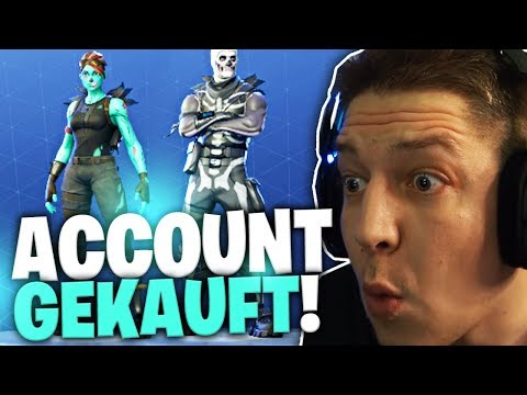 Fortnite Account gekauft | SpontanaBlack
