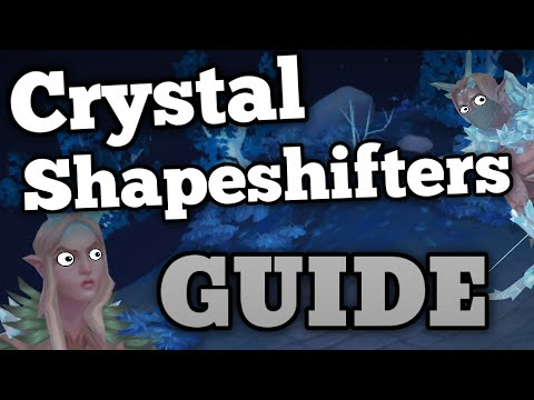 Crystal Shapeshifters Guide and Slayer Task Loot [Runescape 2015]