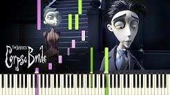 """[PIANO TUTORIAL] """"Victor's Piano Solo"""" - Tim Burton's Corpse Bride (Piano Cover, Synthesia, Movie)"""