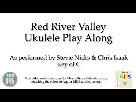 Red River Valley Ukulele Play Along