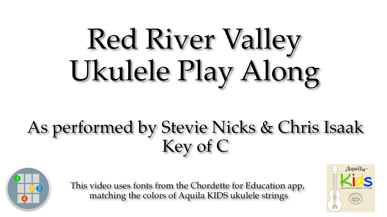 Red river valley ukulele play along youtube hexwebz Images
