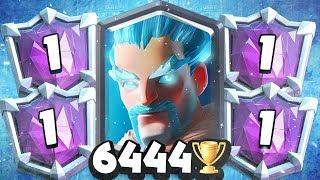 #1 TROPHY DECK   FREEZE OP! WIN IN ONE PUSH w/ Lumberjack Loon Freeze!