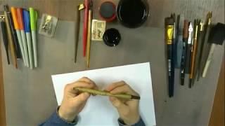 обзор инструментов для каллиграфии