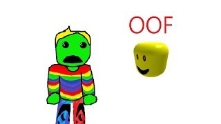 The death of ROBLOX was evil! -(ROBLOX)-OOF. exe