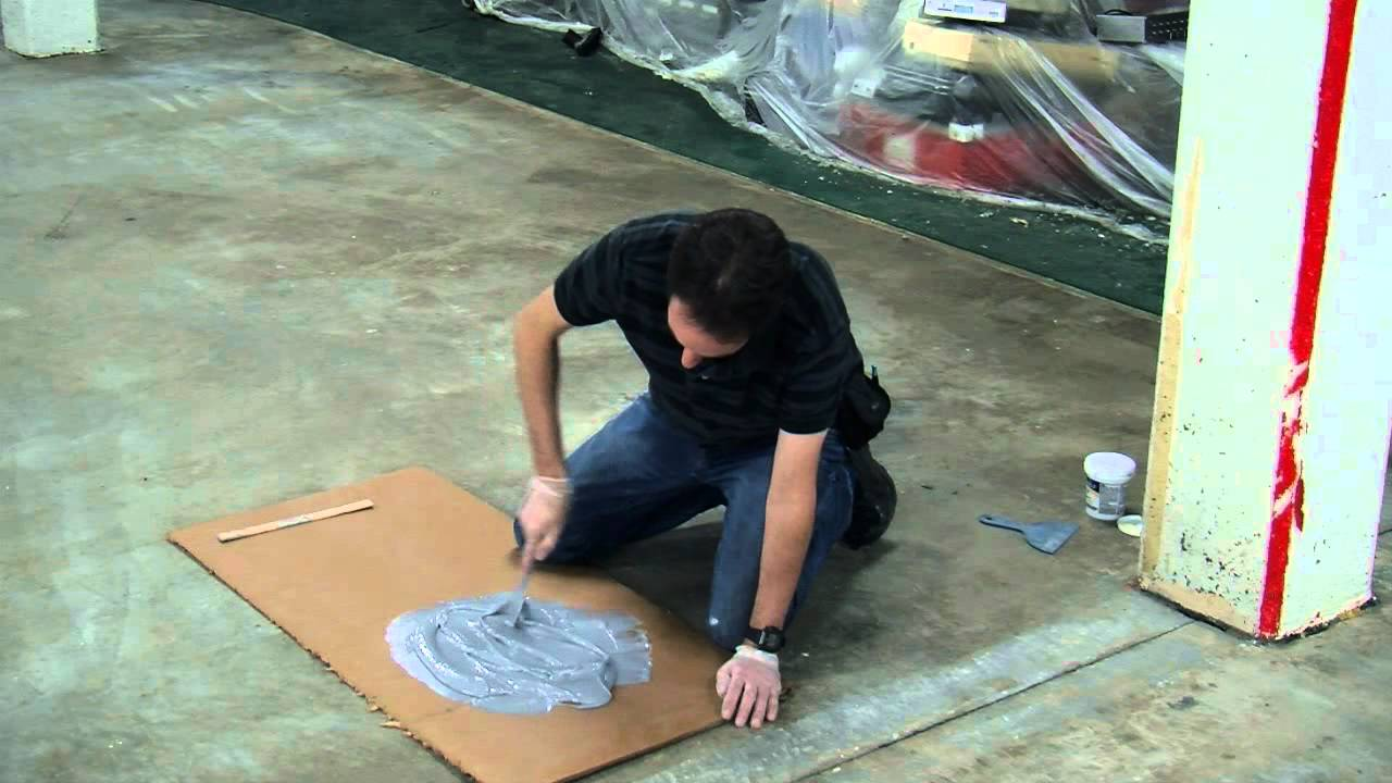 How To Paint Your Floor With Epoxyshield Youtube