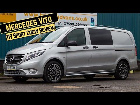 2019 Mercedes-Benz Vito 119 Sport Crew Detailed Walk U0026 Talk Review