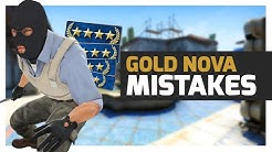 I Played 10 Matches in GOLD NOVA and Seen all These Mistakes - CS:GO
