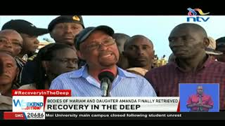 Likoni Accident: Bodies of Mariam and daughter Amanda finally retrieved