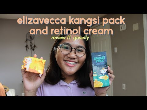 Elizavecca Kangsi Pack and EGF Retinol Cream Review ft  GoSelly