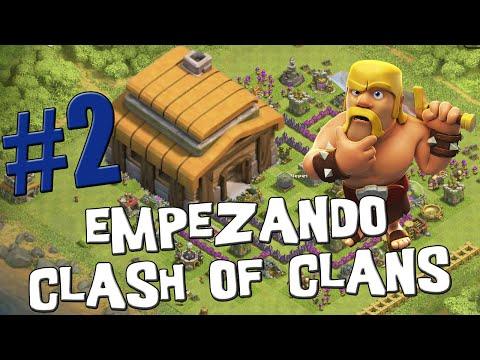 Robando oro a los duendes - Empezando Clash of Clans con Android #2 [Español]