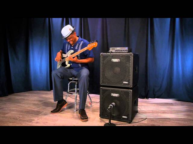 MESA® Subway® D-800™ Bass Amp & Ultra-Lite 1x15 – J-Bass Funk & Drums