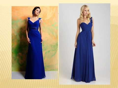 Blue Bridesmaid Dresses QueenieBridesmaid