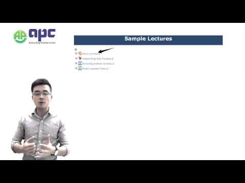 APC Online Course Study Platform
