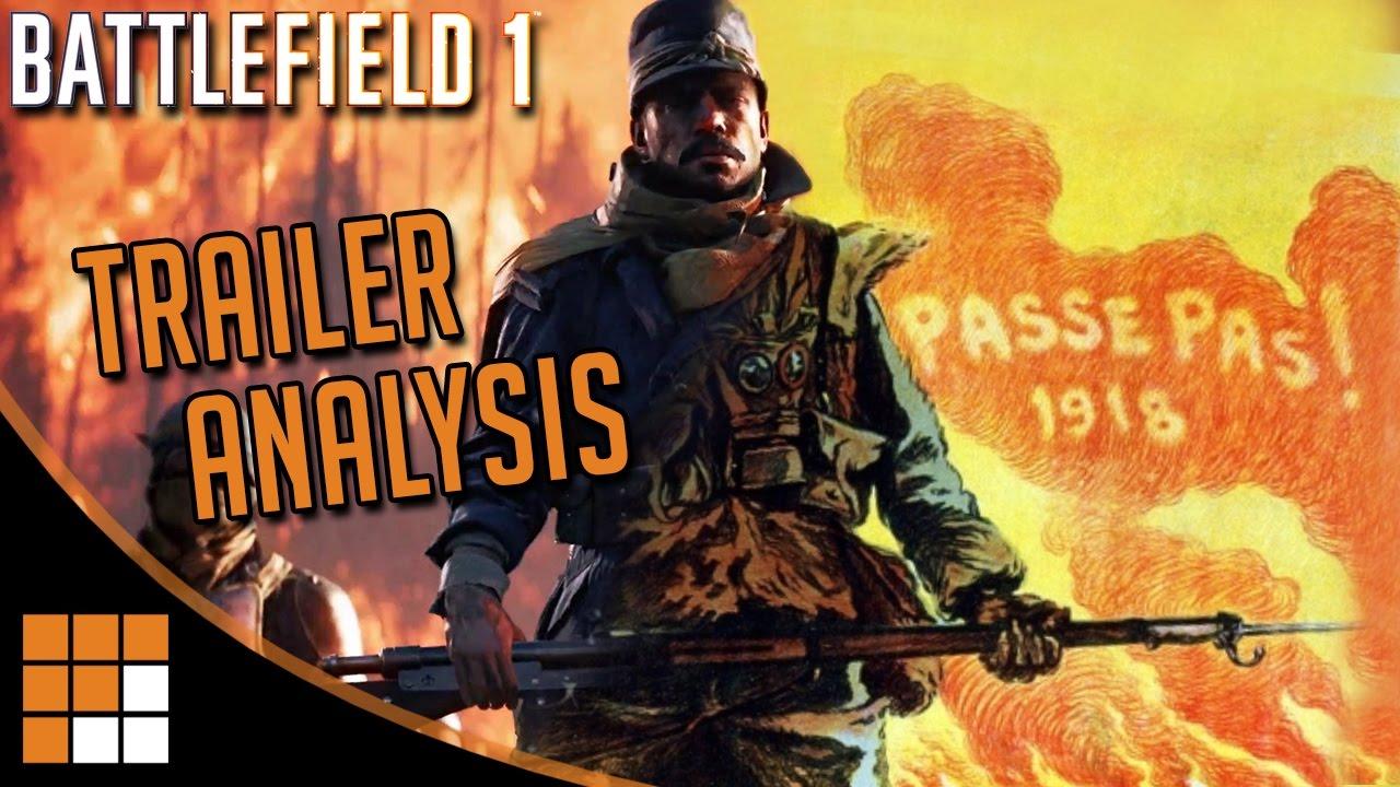 Battlefield 1: They Shall Not Pass DLC Trailer Analysis