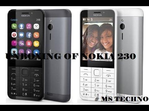 [Hindi - हिन्दी] Unboxing Of Microsoft/ Nokia 230 Dark Silver BY MANIK SINGHAL #MSTECHNO
