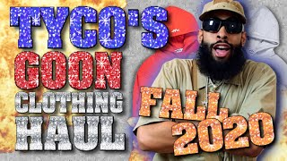 Tyco's Fall 2020 Goon Clothing Haul (Comedy Sketch)