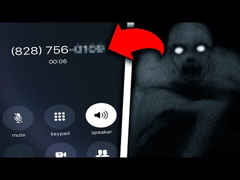 this scary number will destroy your phone! (creepy)