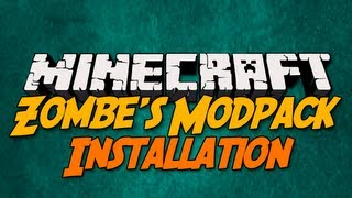 Minecraft [1.5.2] Zombe's Mod-Pack - Mod Review - Installation - [German|HD]