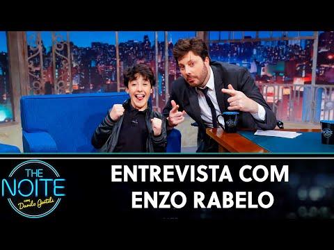 Entrevista com Enzo Rabelo   The Noite 240719