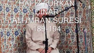 ALİ İMRAN 189 194
