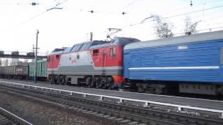 ЭП2К-134 с поездом №064 Минск - Иркутск