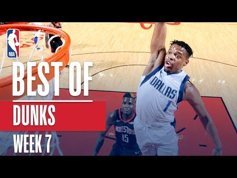NBA's Best Dunks | Week 7