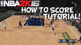 NBA 2K16 Tip: How to score- How to get assists- NBA 2K16 Tutorial