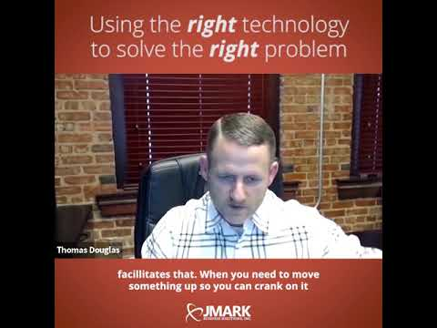 Using the right technology to solve the right problem
