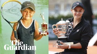 'The stars aligned': Ashleigh Barty's stormy journey to French Open glory