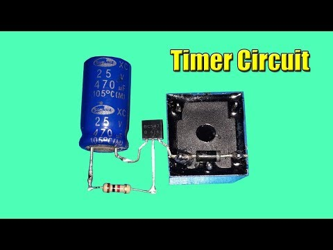 Electronic Projects Delay Timer Circuit Using Relay