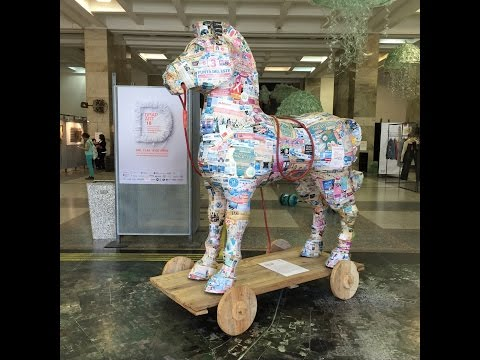 Parte 2 // Recorriendo DrapArt Uruguay - Recycling Art