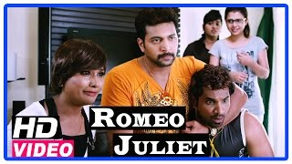 Romeo Juliet Tamil Movie | Scenes | Hansika searching girl for Jayam Ravi