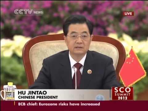 SCO Summit 2012 (CCTV News)