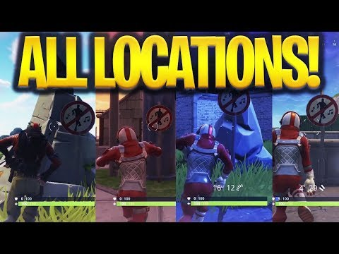 Fortnite Dance in different forbidden locations Challenge Week2 Battle Pass Fortnite Battle Royale