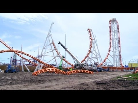 How to build a roller coaster - YouTube
