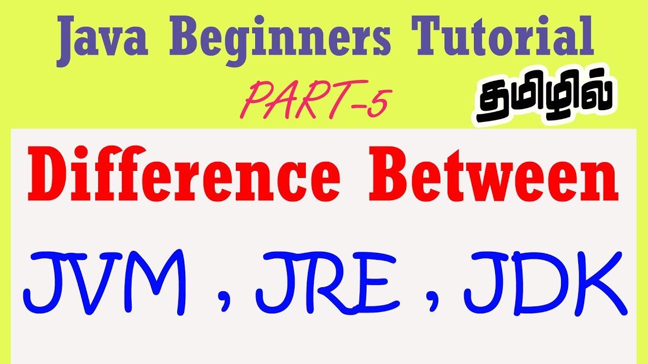 #5 | Java Beginners Tutorial in Tamil | Understanding the
