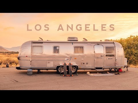 We Moved to Los Angeles in our Tiny Home! - [Travel Vlog]