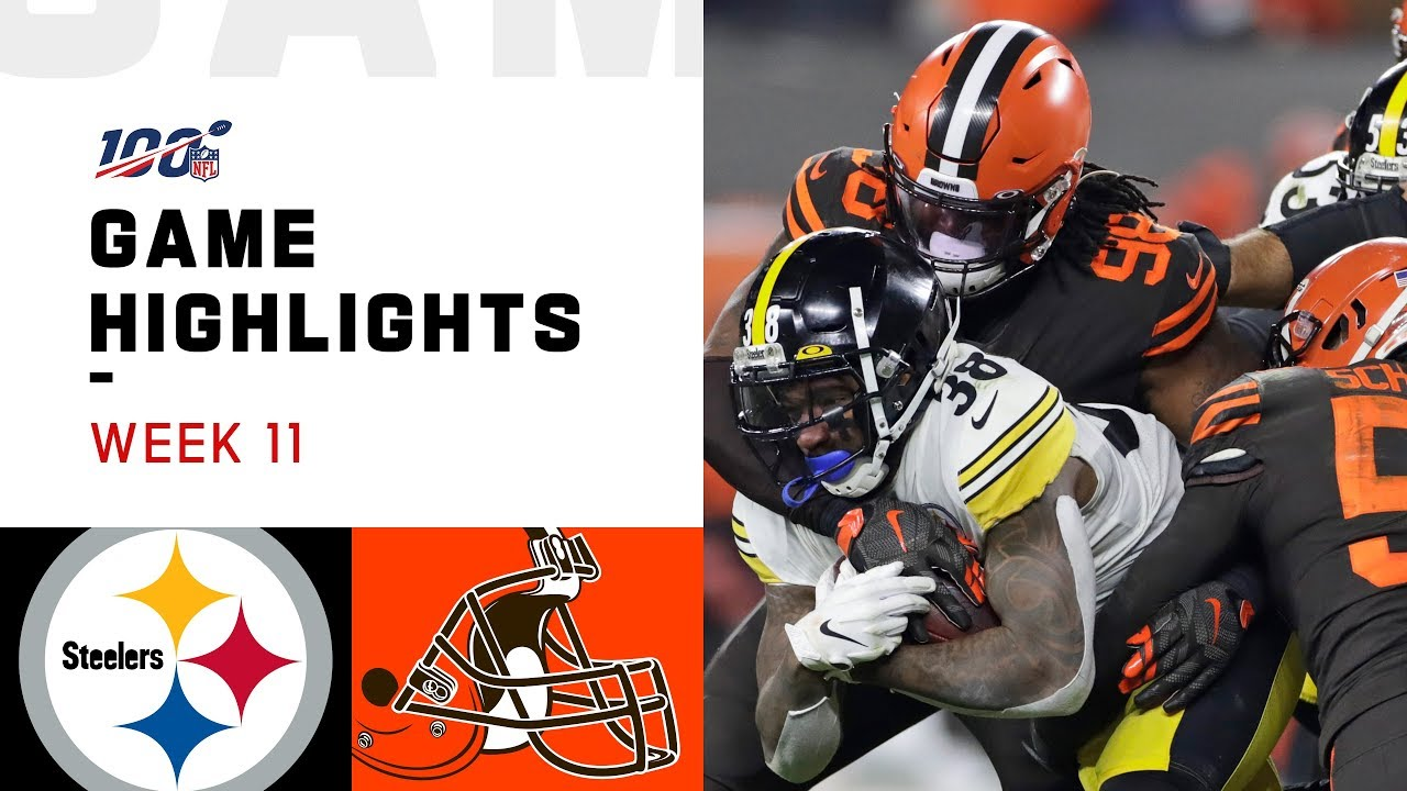 Game Highlights: Browns vs. Steelers