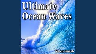 Medium Ocean Waves Come In