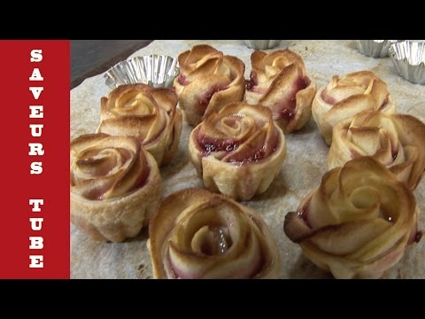 How to make Apple Tart Roses with TV Chef Julien from Saveurs Dartmouth UK