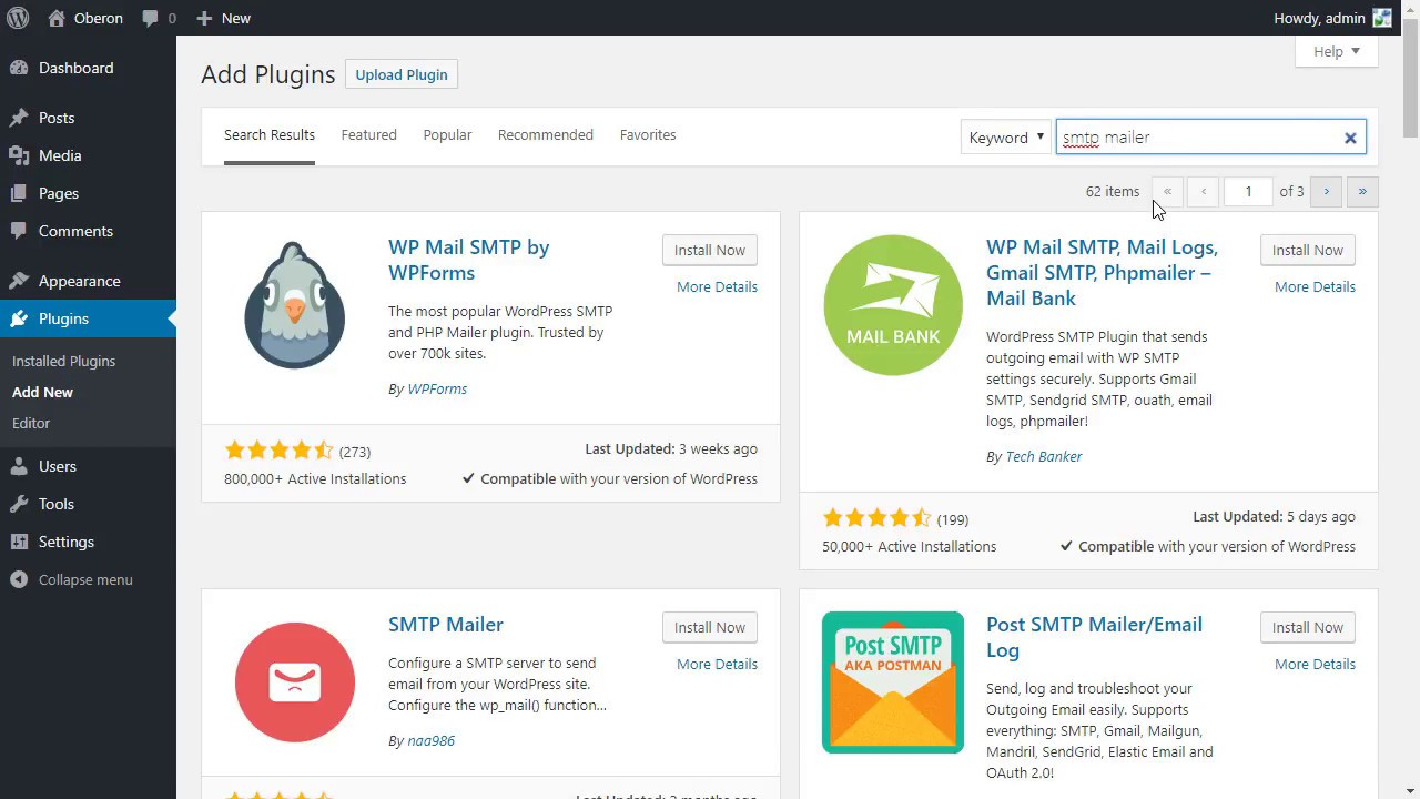 SMTP Mailer Plugin for WordPress (Fix WordPress not Sending Email)