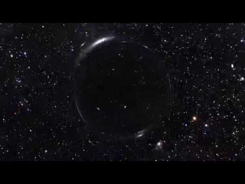 Gravitational Lensing Animation Test