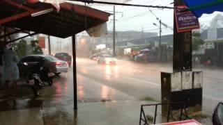 Pattaya thunderstorm with Dave Nash