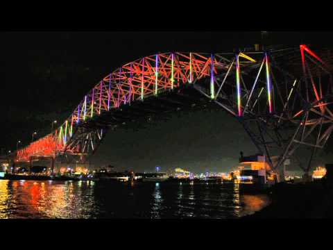 Corpus Christi Official Harbor Bridge Lighting