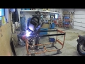 Building a work bench from scrap metal (Part 3)