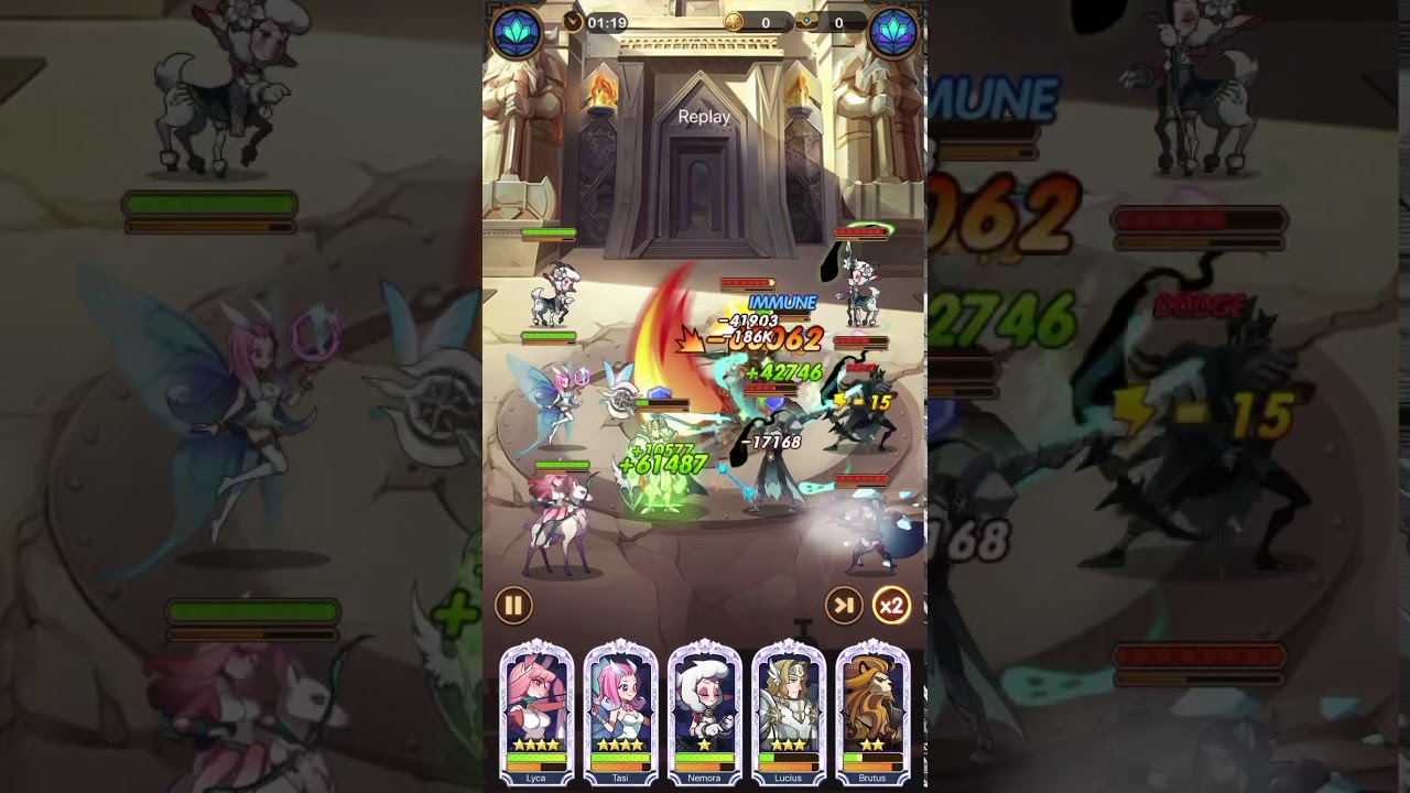 AFK Arena Stage 22-11 - YouTube