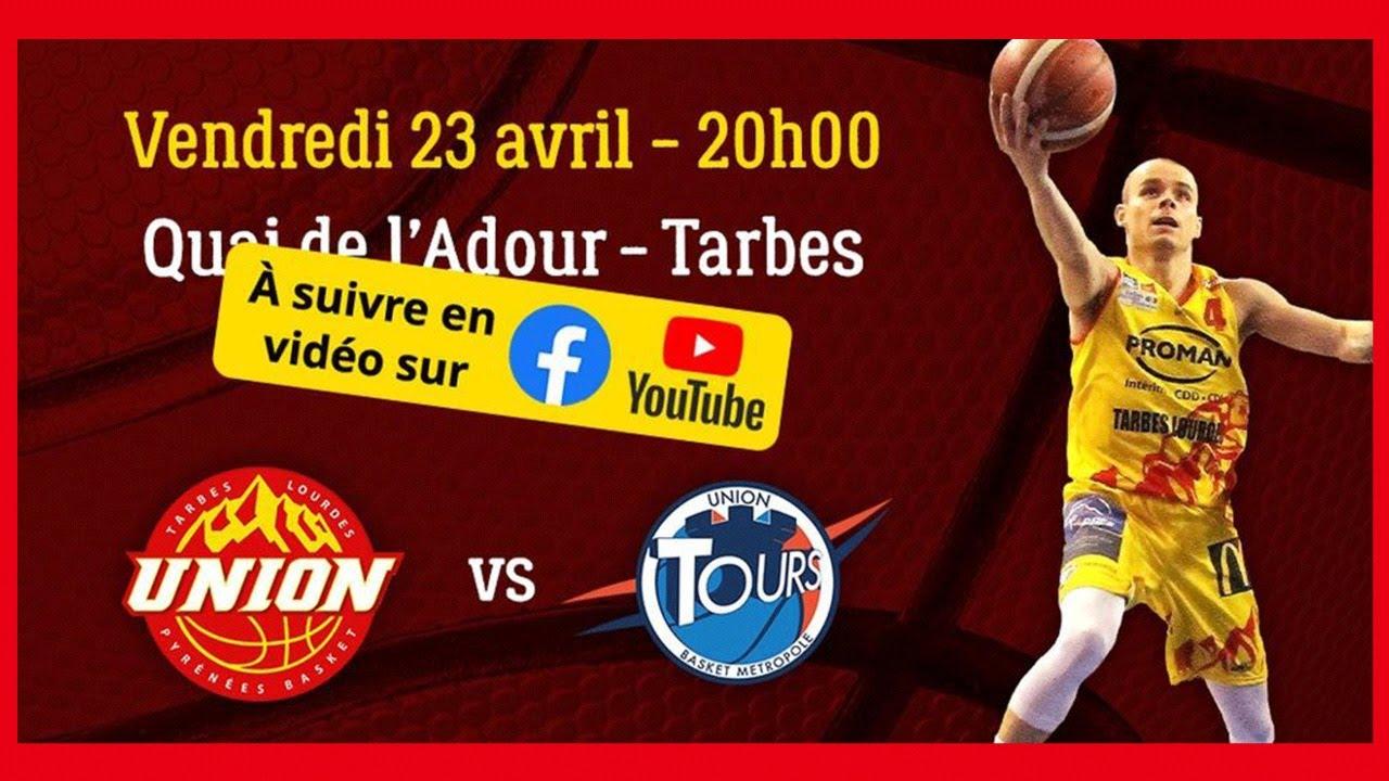 UTLPB Union Tarbes Lourdes Pyrénées Basket vs UTBM Union Tours Basket Métropole LIVE streaming